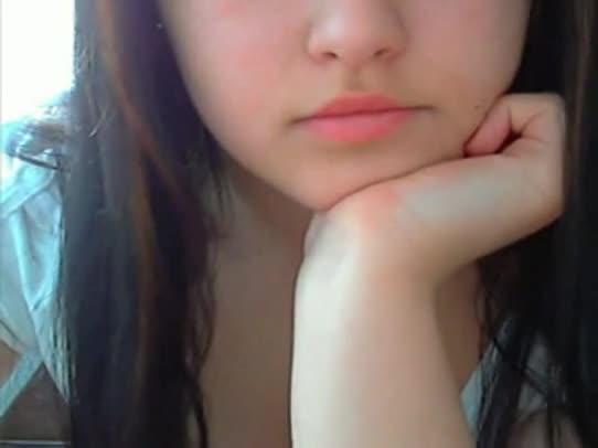 Novinha gostosinha de Goiânia dando seu show na webcam